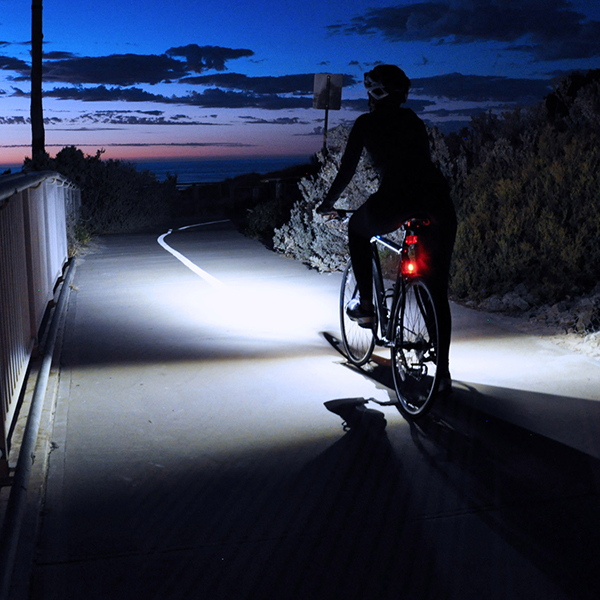 Why bicycle lights are important…even in daylight