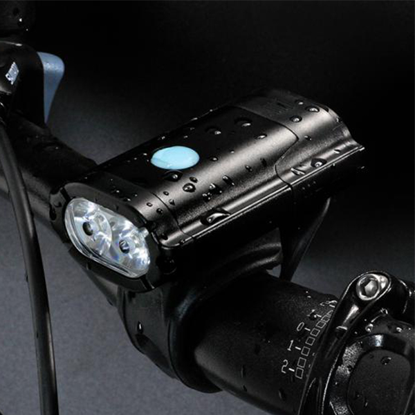 Bike lights to help see and be seen