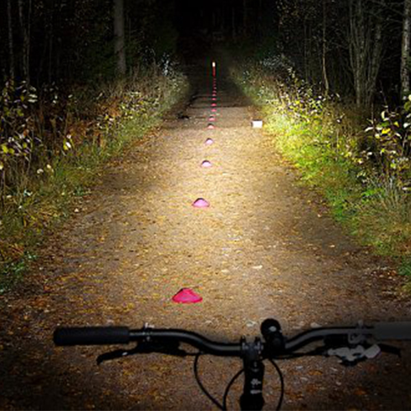 Flashlights are not the professional bicycle lights, take care!