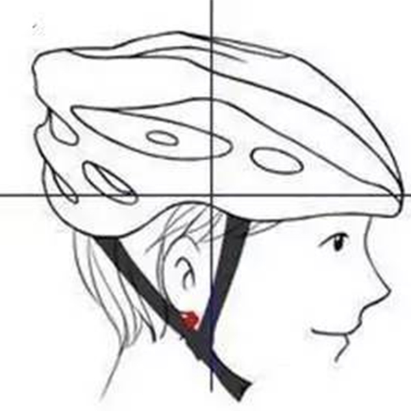 How to wear the helmet by using correct way
