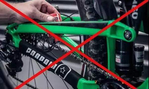 How to grease the chain
